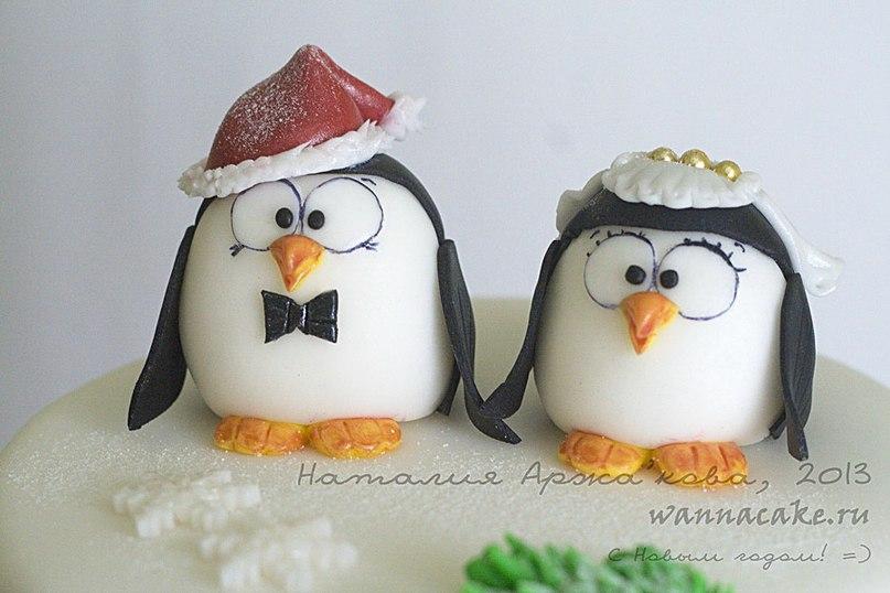 """Торт """"Пингвины"""""""