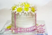 Торт «Букет для любимой бабушки»