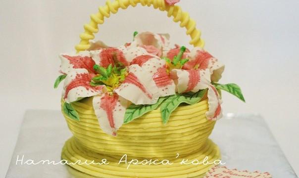 Торт «Весеннее настроение»