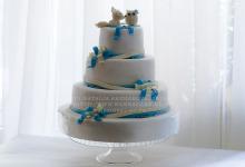"""Свадебный торт """"Лисенок и Совенок"""""""