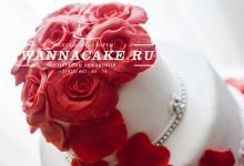 Свадебный тортик с маффинами