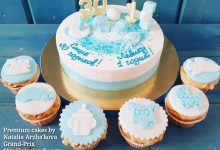 Торт на 30 лет и на 1 годик одновременно!!! 😍💙
