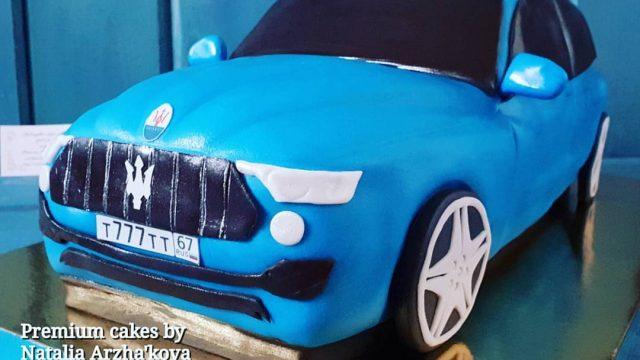 Авто-торт! Maserati Levante Cake!
