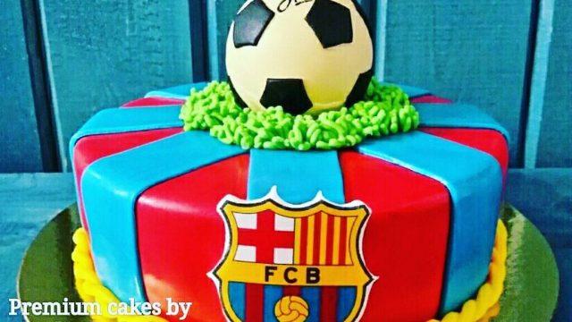 Футбольный торт! Победа! Россия:Испания! 5:4! Чемпионат мира по футболу в России 2018!